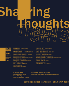 Workshop: Sharing Thoughts @ University of Valencia